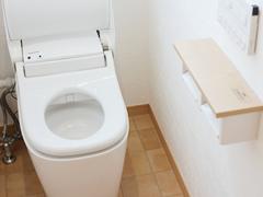 トイレのクリーニング
