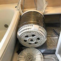 菊池郡菊陽町・縦型洗濯機洗浄のイメージ