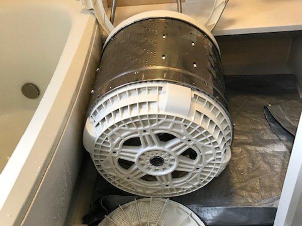 菊池郡菊陽町・縦型洗濯機洗浄の画像