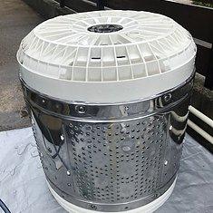 宮崎県宮崎市・縦型洗濯機分解洗浄のイメージ