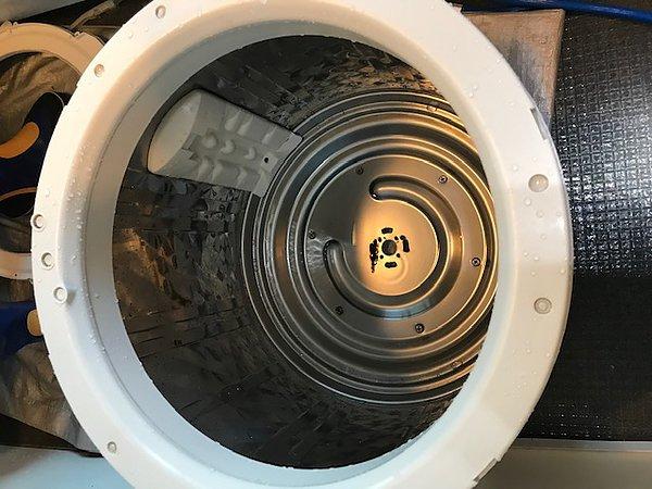 熊本市南区・縦型洗濯機分解清掃の画像