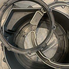 熊本市西区・ドラム式洗濯機分解清掃のイメージ