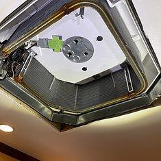 福岡県那珂川市・M様エアコンクリーニング(ダイキン製 4方向天カセエアコン)のイメージ