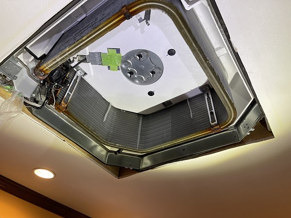 福岡県那珂川市・M様エアコンクリーニング(ダイキン製 4方向天カセエアコン)の画像