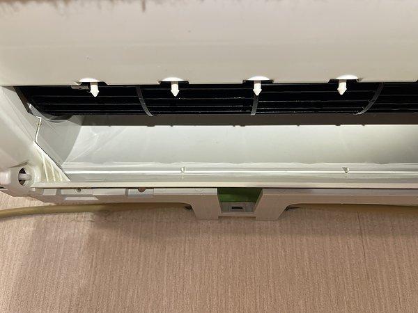熊本県北区・O様エアコンクリーニング2台目(パナソニック CS-GX367C 2017年製)の画像